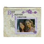 Best Friends Forever XL Cosmetic Bag - Cosmetic Bag (XL)