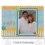 Calendario Luis - Wall Calendar 11  x 8.5  (12-Months)