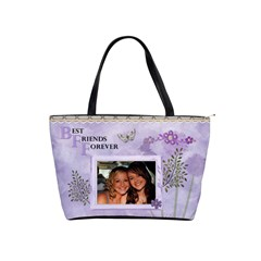Best Friends Forever Classic Shoulder Handbag By Lil    Classic Shoulder Handbag   Lp8bbg7dnr0k   Www Artscow Com Front
