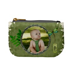 Green Nature Mini Coin Purse By Lil    Mini Coin Purse   Zyi0lmafmofe   Www Artscow Com Front