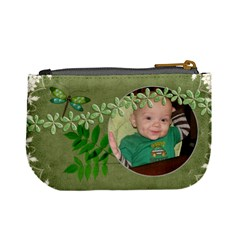 Green Nature Mini Coin Purse By Lil    Mini Coin Purse   Zyi0lmafmofe   Www Artscow Com Back