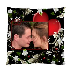 My Heart (2 Sided) Cushion By Deborah   Standard Cushion Case (two Sides)   5l06bgohif5l   Www Artscow Com Front