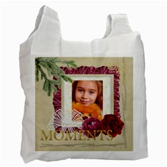 Christmas  By Joely   Recycle Bag (two Side)   Oej8wzgvactj   Www Artscow Com Front