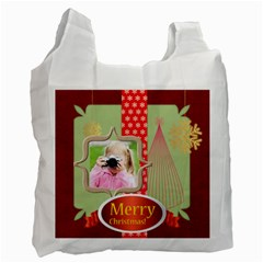 Christmas By Joely   Recycle Bag (two Side)   Ympiy7c4d530   Www Artscow Com Front