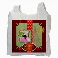 Christmas By Joely   Recycle Bag (two Side)   Ympiy7c4d530   Www Artscow Com Back