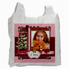 Christmas By Joely   Recycle Bag (two Side)   2m7spmkr74w2   Www Artscow Com Front