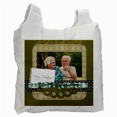 Christmas By Joely   Recycle Bag (two Side)   Yknz6f67lh9q   Www Artscow Com Front