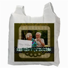 Christmas By Joely   Recycle Bag (two Side)   Yknz6f67lh9q   Www Artscow Com Back