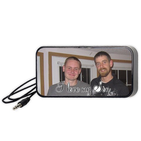 Mark & Dalton By Julie Severin   Portable Speaker (black)   43c5r677d0j2   Www Artscow Com Front