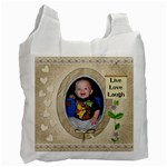Live Love Laugh Recycle Bag (1 Side) - Recycle Bag (One Side)
