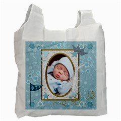 Little Prince Recycle Bag (2 Sided) By Lil    Recycle Bag (two Side)   Z7jm83u7d44c   Www Artscow Com Front
