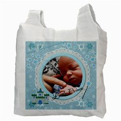 Little Prince Recycle Bag (2 Sided) By Lil    Recycle Bag (two Side)   Z7jm83u7d44c   Www Artscow Com Back