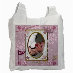 Little Princess Recycle Bag (2 Sided) By Lil    Recycle Bag (two Side)   Bw4noi1hr1ra   Www Artscow Com Front