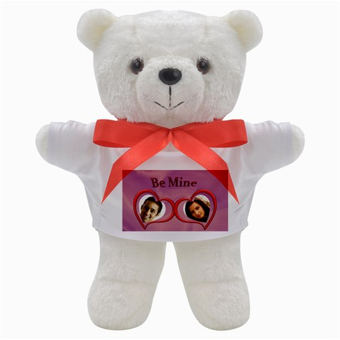 Be Mine Teddy By Deborah   Teddy Bear   Sycdkkjauq6z   Www Artscow Com Front