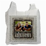 Adorable Family Recycle Bag (2 Sided) - Recycle Bag (Two Side)