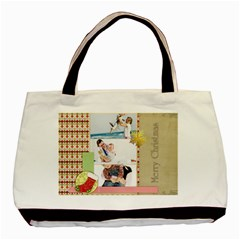 Christmas By Joely   Basic Tote Bag (two Sides)   2x6syw9oej11   Www Artscow Com Back