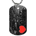 Inykjgkip Dog Tag (One Side)