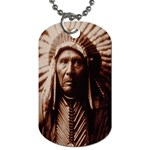 Indychiefip Dog Tag (One Side)