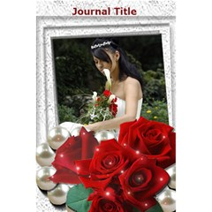 Rose Journal Notebook By Deborah   5 5  X 8 5  Notebook   1vrzgmktkmyk   Www Artscow Com Front Cover