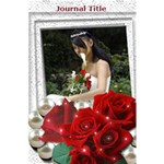 Rose Journal notebook - 5.5  x 8.5  Notebook