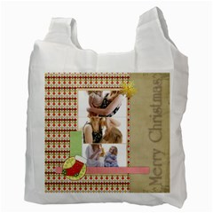 Christmas By Joely   Recycle Bag (two Side)   2yv6u54nvlei   Www Artscow Com Back