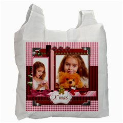 Christmas By Joely   Recycle Bag (two Side)   B9l19yhk4xg2   Www Artscow Com Front