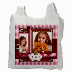 Christmas By Joely   Recycle Bag (two Side)   B9l19yhk4xg2   Www Artscow Com Back