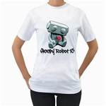 Sleepy Robot 13 Logo Women s T-Shirt