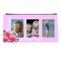 Little Rose Pencil Case By Deborah   Pencil Case   4xfqw6yd0nmh   Www Artscow Com Front
