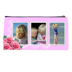 Little Rose Pencil Case By Deborah   Pencil Case   4xfqw6yd0nmh   Www Artscow Com Back