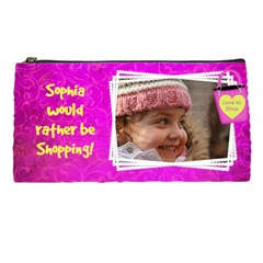 Let s Go Shopping By Deborah   Pencil Case   Q21qc3mac7h7   Www Artscow Com Front