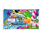 Sr13 Rainbow Collage Pencil Case