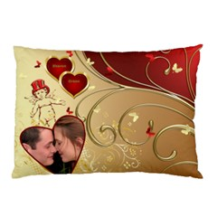 My Valentine Pillow Case (2 Sided) By Deborah   Pillow Case (two Sides)   Lt41m28dpiju   Www Artscow Com Front