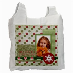 Christmas By Joely   Recycle Bag (two Side)   Lb0lqnha64vj   Www Artscow Com Front