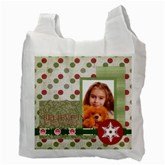 Christmas By Joely   Recycle Bag (two Side)   Lb0lqnha64vj   Www Artscow Com Back