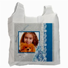 Christmas By Joely   Recycle Bag (two Side)   31fp10i7tmk1   Www Artscow Com Front
