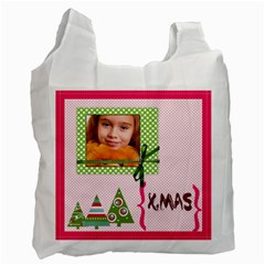 Christmas By Joely   Recycle Bag (two Side)   Sn88pbdygz1o   Www Artscow Com Front