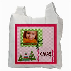 Christmas By Joely   Recycle Bag (two Side)   Sn88pbdygz1o   Www Artscow Com Back
