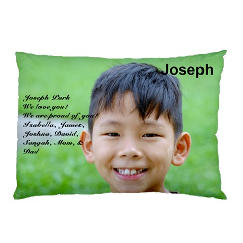 Joseph By Kunsoon Park   Pillow Case   Ky4q14u0xo5a   Www Artscow Com 26.62 x18.9 Pillow Case