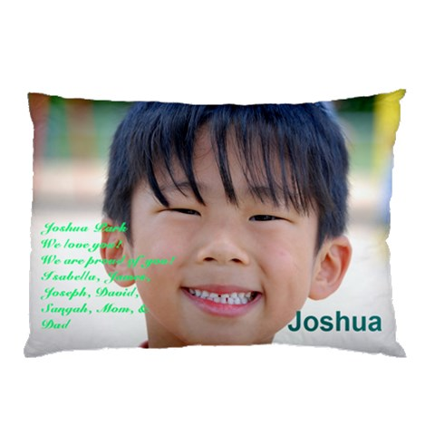 Joshua By Kunsoon Park   Pillow Case   Ow0jh2lacavb   Www Artscow Com 26.62 x18.9 Pillow Case