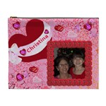 Heart XL cosmetic Bag - Cosmetic Bag (XL)