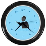 World s Best Father (Hebrew) Wall Clock (Black)