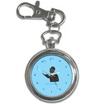 World s Best Father (Hebrew) Key Chain Watch
