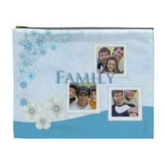 Family By Joely   Cosmetic Bag (xl)   E63e2sngvpga   Www Artscow Com Front