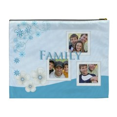 Family By Joely   Cosmetic Bag (xl)   E63e2sngvpga   Www Artscow Com Back