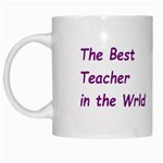 teacher - White Mug