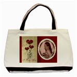 Red  Lace Valentines Love Bag - Classic Tote Bag