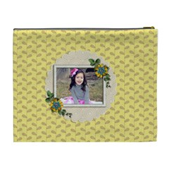 Xl Cosmetic Bag: Moments To Hold By Jennyl   Cosmetic Bag (xl)   Yq9y6s1rux68   Www Artscow Com Back