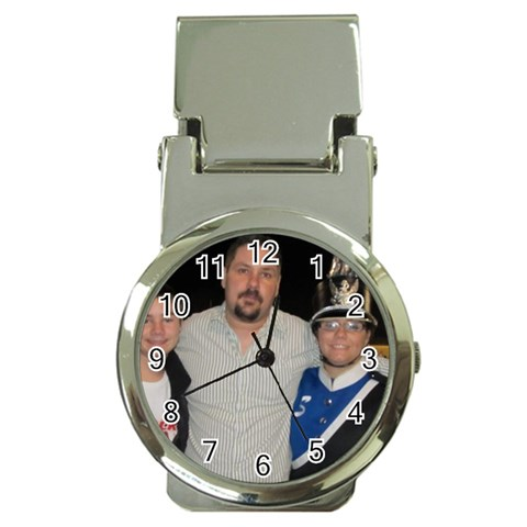 Michael Father Day Gift From Kids By Jessica Dodd   Money Clip Watch   Ww3va9ot3rps   Www Artscow Com Front