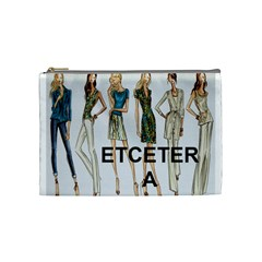 Etc 2012 Spring Group 6 By Lori Cronican   Cosmetic Bag (medium)   Aibajdxdjdb9   Www Artscow Com Front